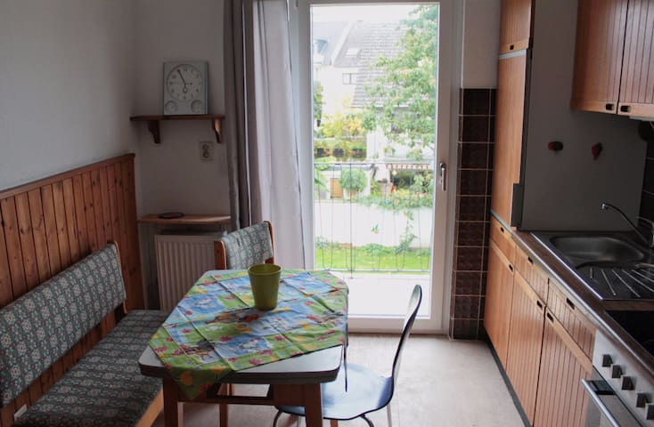 Rent the cosy cologne apartment near the airport.