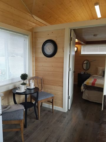 Fly, Drive, or Bike In Tiny Home Cabin 1