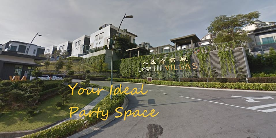 Amuse. Your Ideal Party Space @ Desa Hill Villas