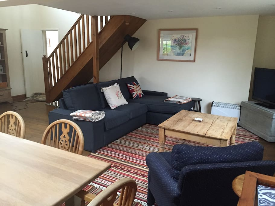 Brand new sofa and rugs October 2016