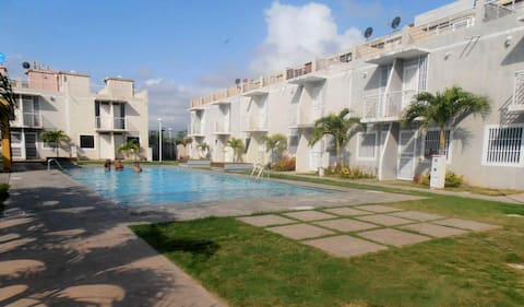 Apartment new, plain at Morrocoy