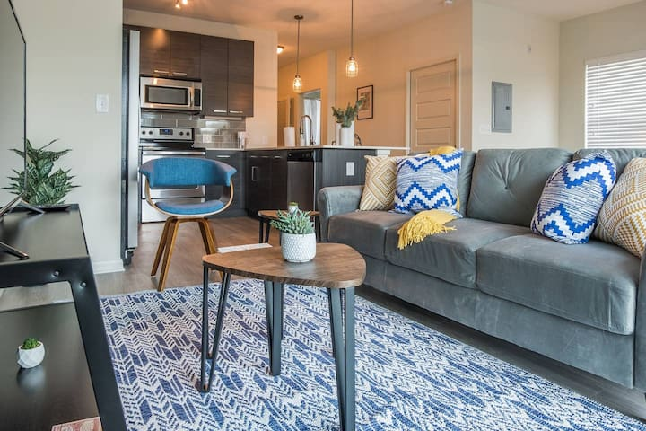 Beautiful + Bold Studio Apt in Old Fourth Ward