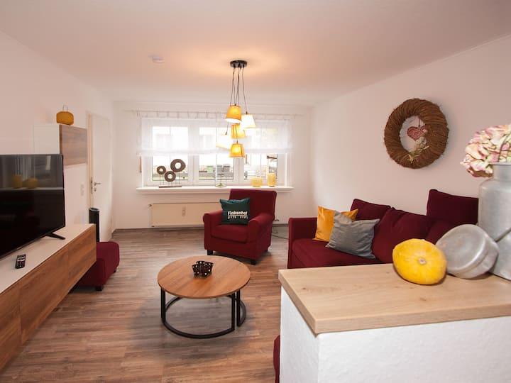 Landhotel Voss, (Lennestadt), Ferienwohnung Kuhstall, 79 qm, 2 Schlafzimmer, max. 2 Erwachsene + 2 Kinder