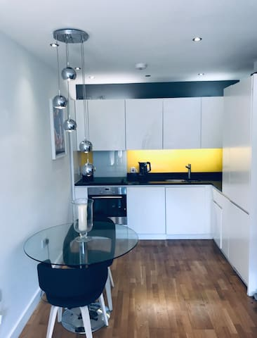 Modern double bedroom flat in central London