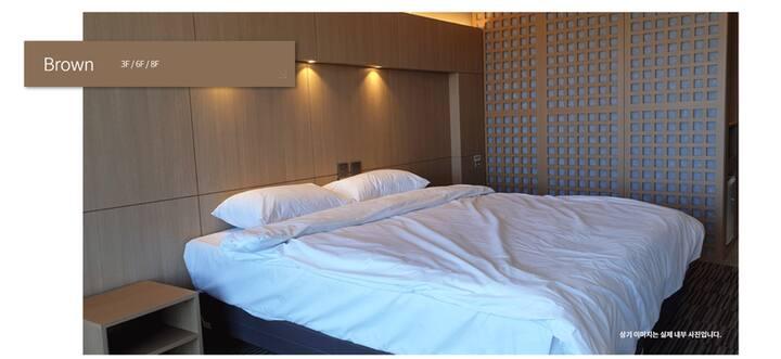 최고의 시설과 보안 한달,보름살이 호텔형원룸