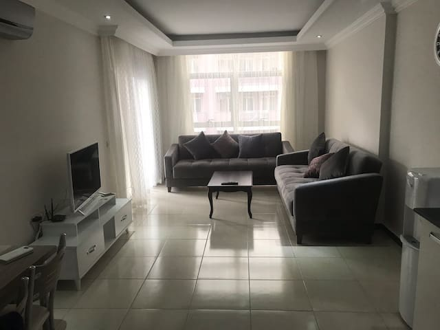 New apartment in Alanya Oba 1+1  400m to beach
