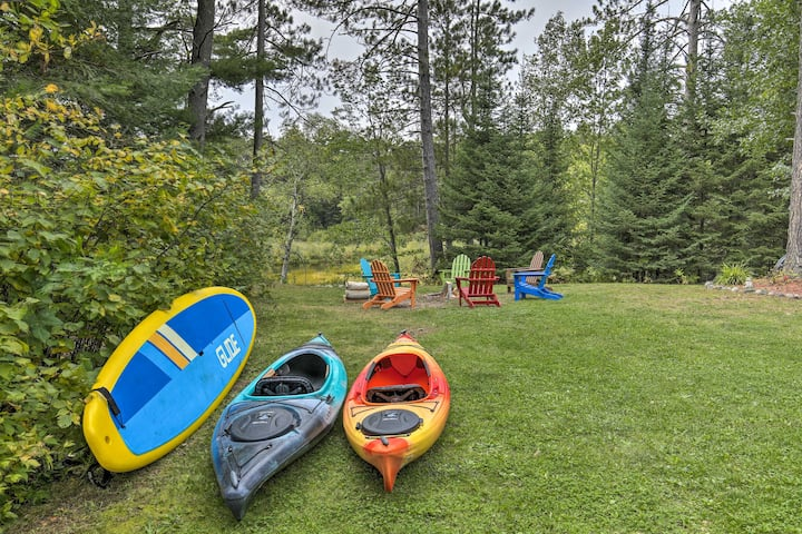 NEW! Eagle River Home w/ Paddle Board + 2 Kayaks!