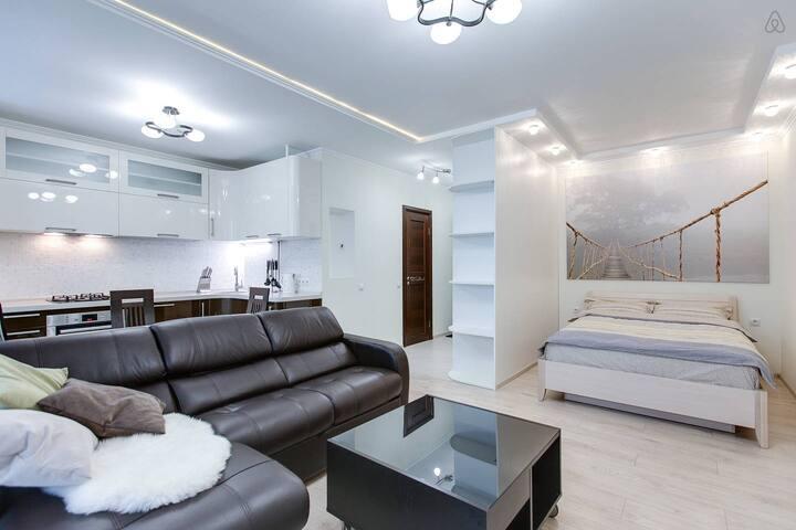 Стильная квартира на Киевской