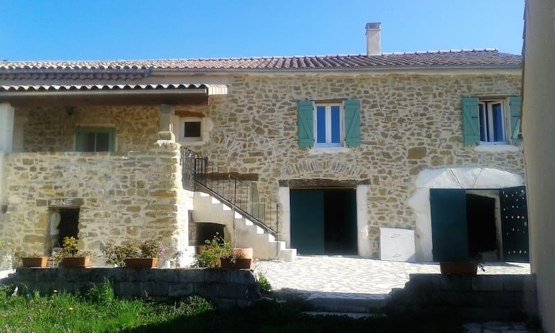 GITE CHATELARD 110 m2 Arnayon 4 personnes - Arnayon - Casa