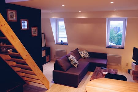 Very cosy duplex near the center 1 - Forest - Appartement