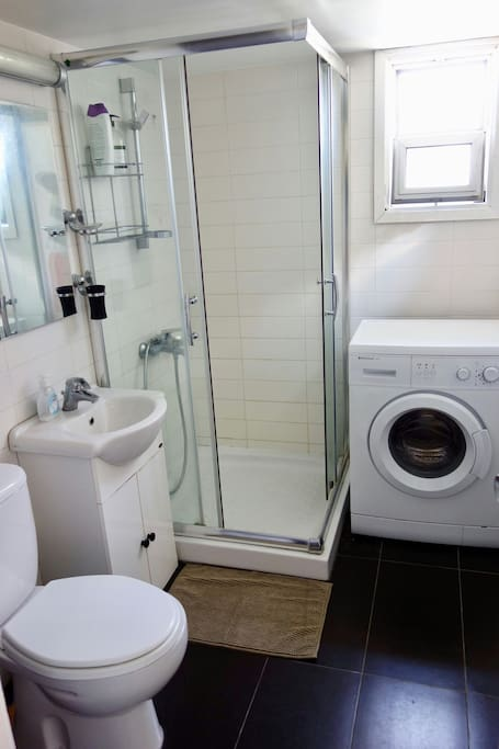 3-8 Bathroom with washing machine
