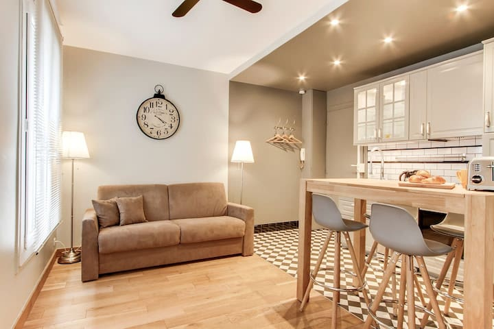 Opéra - Bastille - Superb apartment for 4 to 6 people