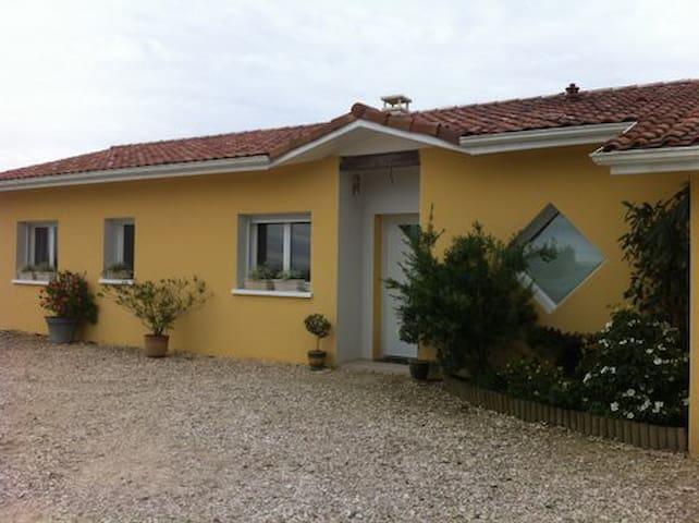 Maison neuve plain pied - Eugénie-les-Bains - Huis
