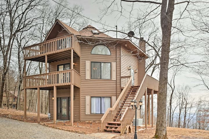NEW! 3BR Jasper Home w/Mtn Views in Bent Tree Area