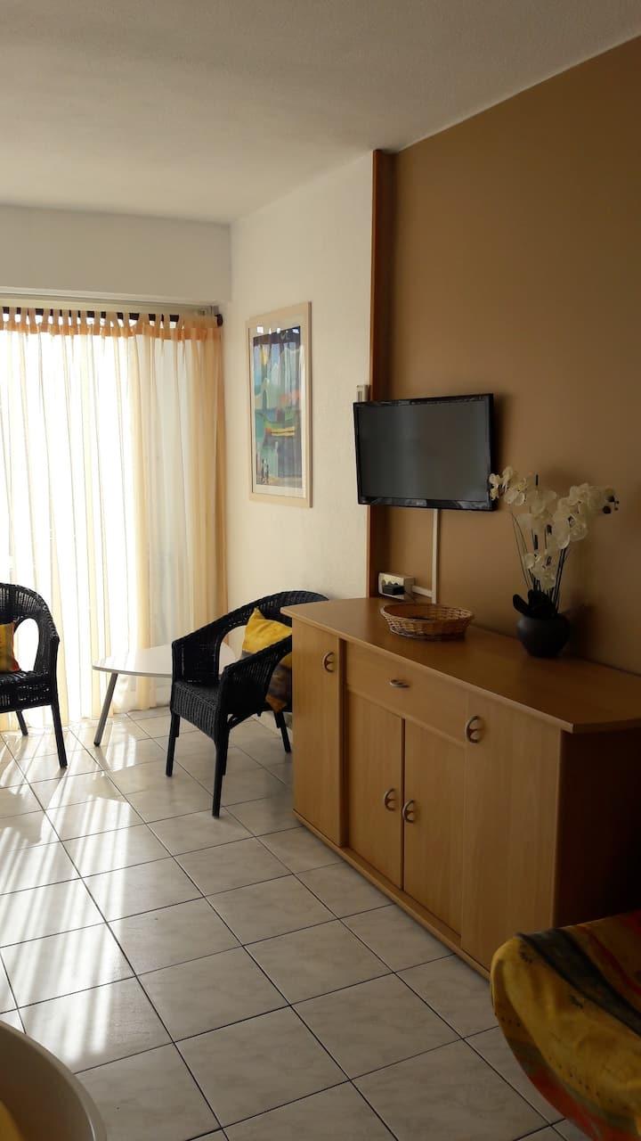 appartement spacieux plain pied 2 vraies chambres
