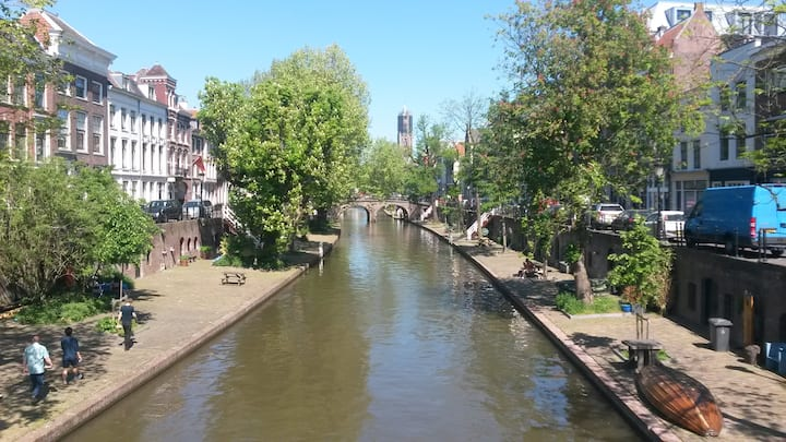 The Old Canal with Domtower in the back