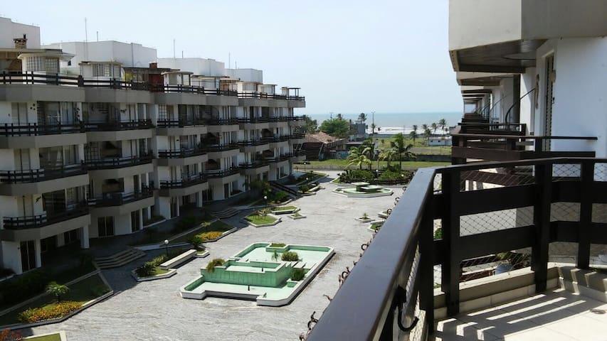 Cobertura com piscina, vista p/ mar - Peruíbe - Apartamento