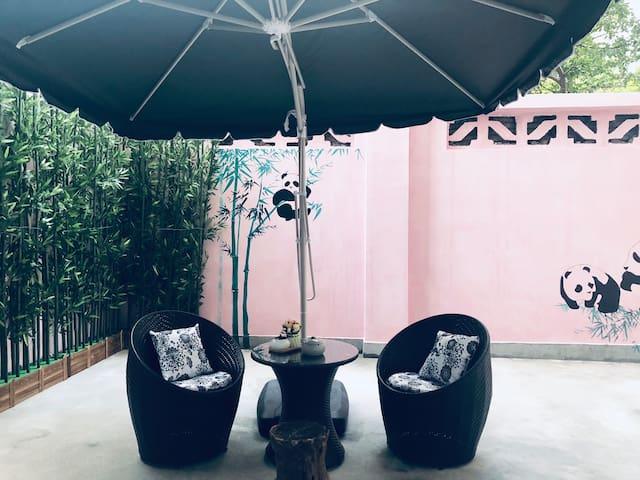 40平私家院落,看书聊天喝茶惬意时光