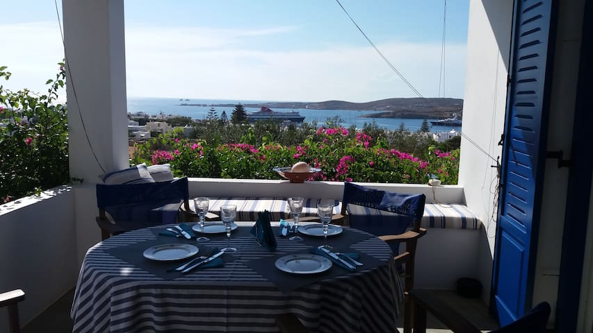 Villa Anna. Best View In Paros