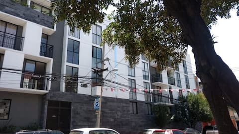 Central apartment in Reforma-Tlatelolco