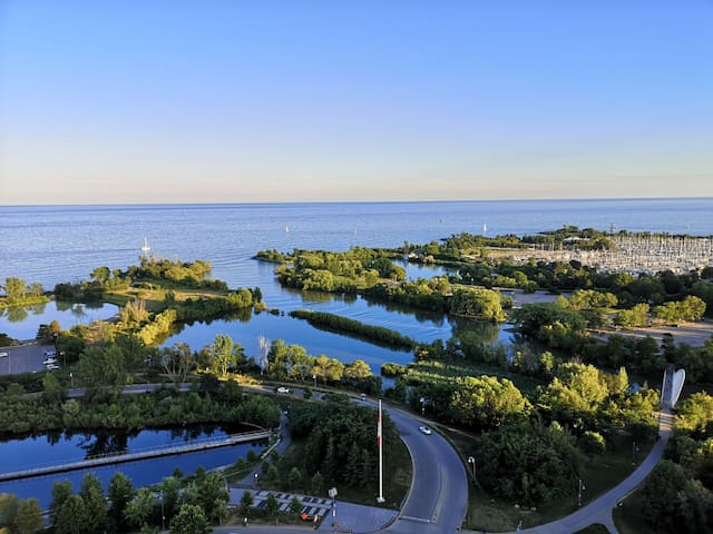 Luxury Brand New Lake & River view Condo!