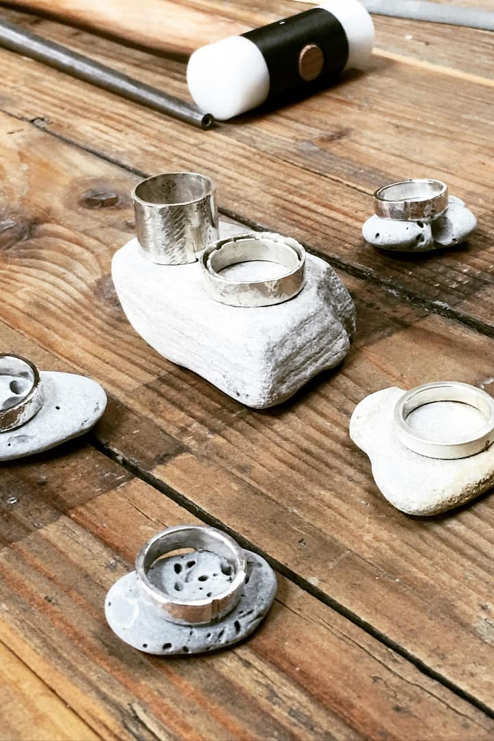 Finished pieces to inspire your own ring