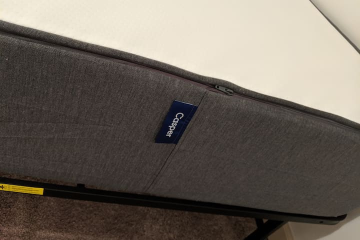 """New Hybrid Casper Mattress (2019), Queen Size.  Award winning, this mattress has more airflow for a """"cooler"""" night's sleep.  Zoned support for pressure relief."""