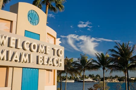 The Islander 2BD 2BA Miami Beach Apartment - 迈阿密海滩 - 公寓