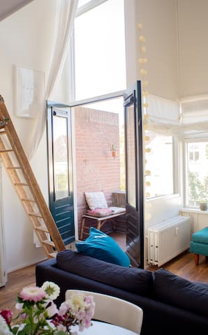 Cute apartment in the historical centre of Delft - Delft - Apartament