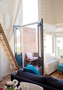 Cute apartment in the historical centre of Delft - Delft - 公寓