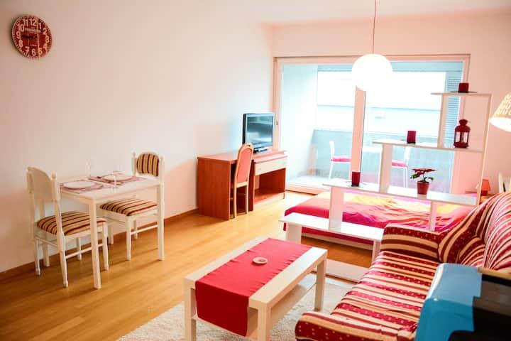 Cherry White Studio for 2, Zagreb