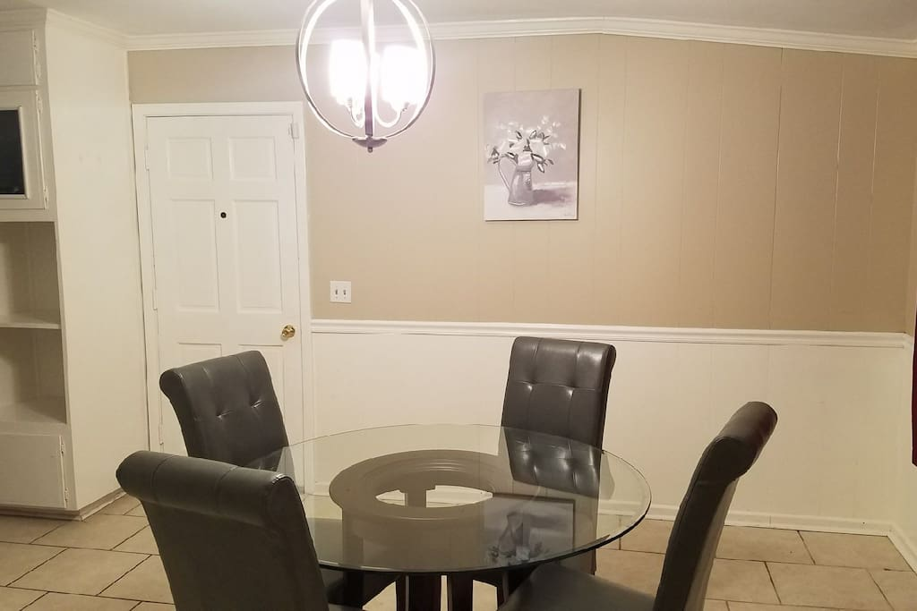 Shared Dining Room & Kitchen