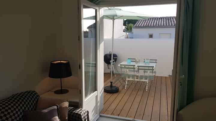 Appartement 2 chambres à Rivedoux-Plage