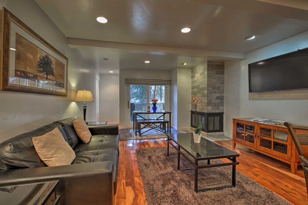 Fall in love with a living space boasting upscale amenities and high-end decor.