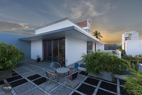ABRA-The Courtyard Villa #Sunflower (Private Room)