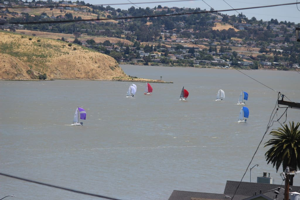 View of Carquinez Straits from front porch.