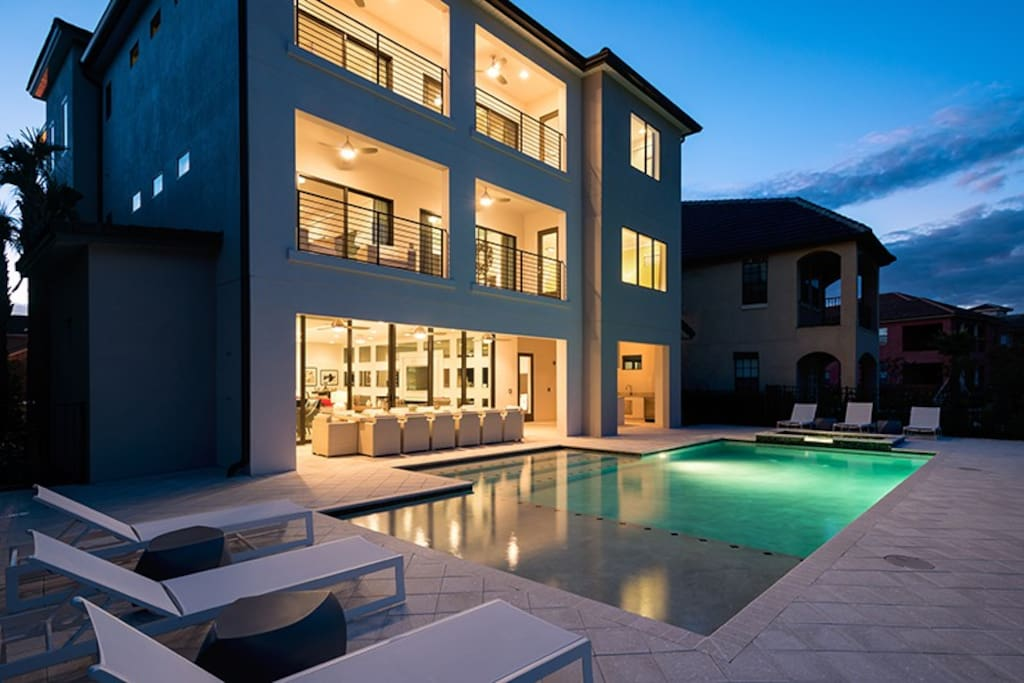 This home features 8,400 sq. ft. of luxury accommodation