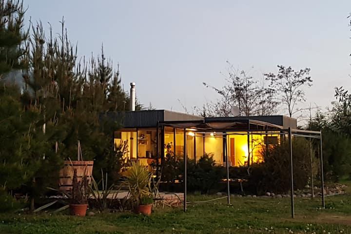 Moderno y privado Refugio Sector rural Las Rastras