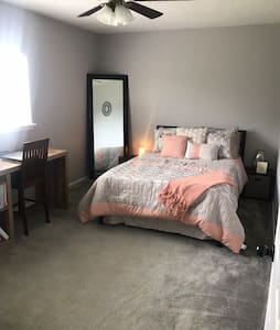 Cozy and Clean. private bedroom, shared bathroom
