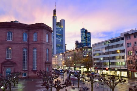 Downtown with an amazing view - Frankfurt am Main