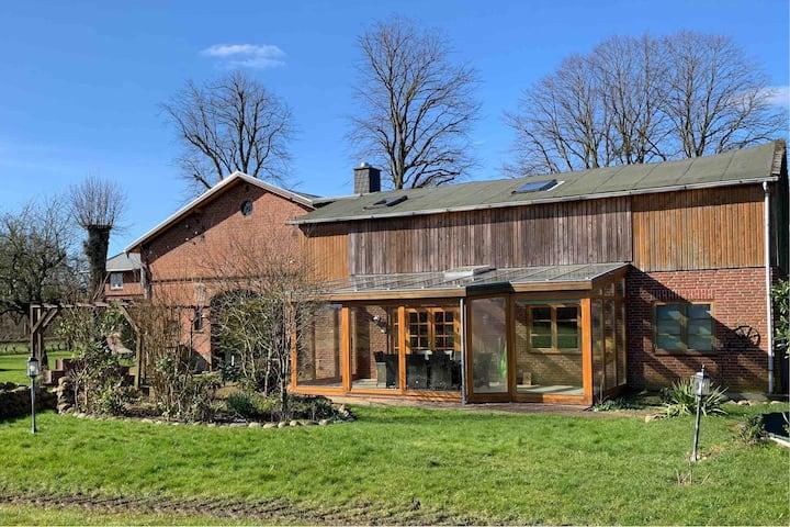Urlaub auf SuNs Resthof (170m²) bis 10 Personen