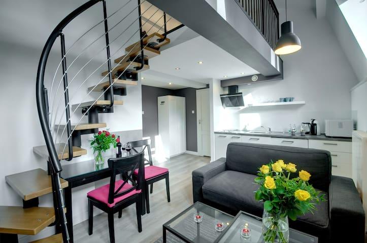 Split level apartment close to ICE Congress Centre