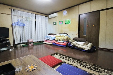 Room3★Hanabatake large old house TsuruokaSt15min
