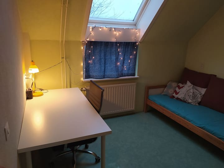 Single Room with study 25min away from Amsterdam C