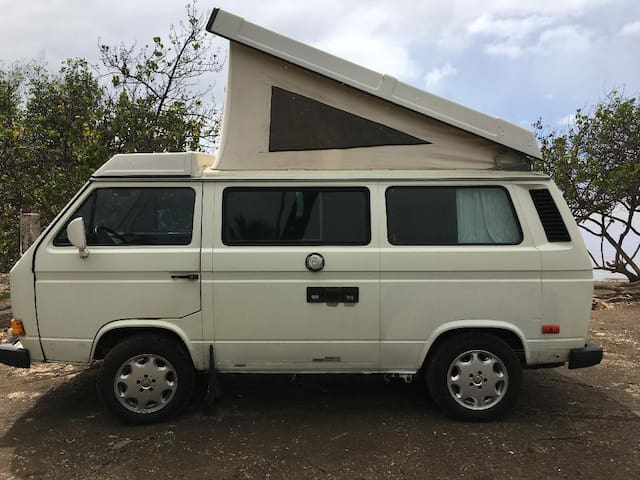 VW Pop Top Camping Van - Glamping on Molokai!!
