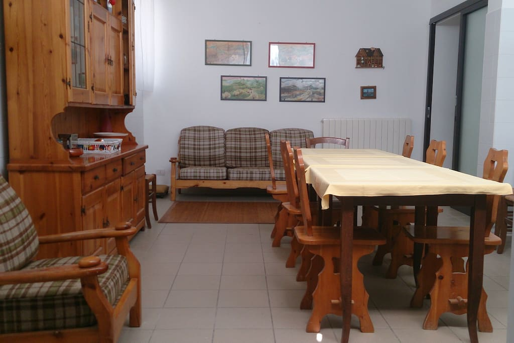 sala pranzo comune