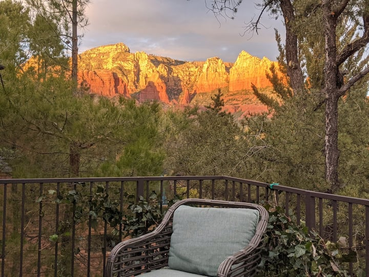 """""""View With a Room""""~Photos are ACTUAL redrock VIEWS"""