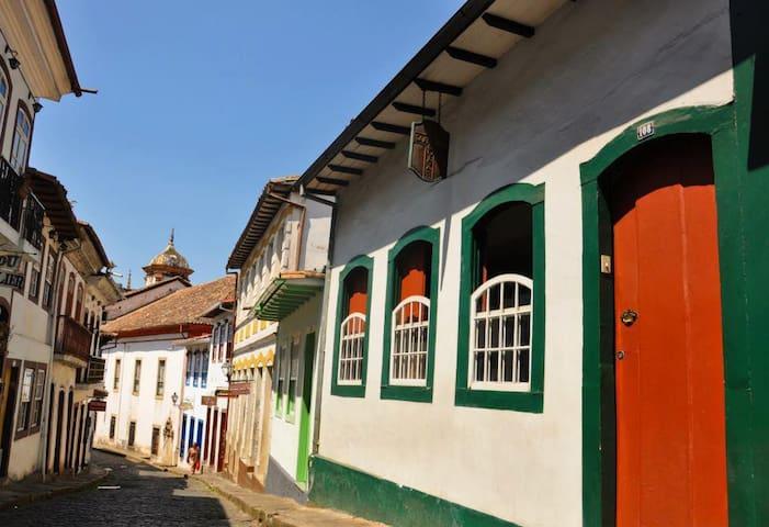 Ambiente estudantil e preços acessíveis. - Ouro Preto - Casa