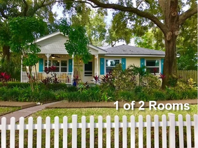 Key West Style Home w/private entry & private bath