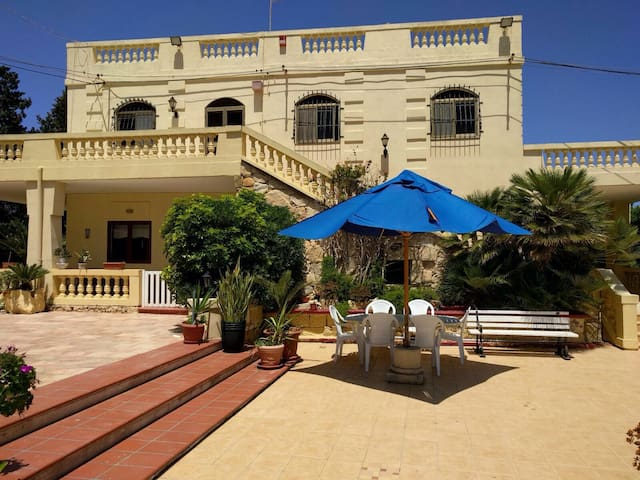 bedroom in Charming Maltese Villa